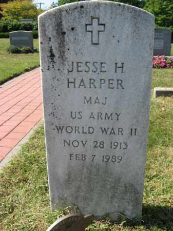 HARPER ( WW II), JESSE H. - Bucks County, Pennsylvania | JESSE H. HARPER ( WW II) - Pennsylvania Gravestone Photos