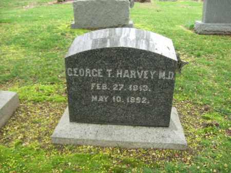 HARVEY (CW), GEORGE T. - Bucks County, Pennsylvania | GEORGE T. HARVEY (CW) - Pennsylvania Gravestone Photos