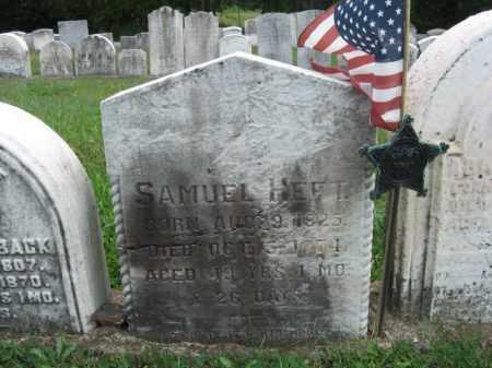 HEFT, SAMUEL - Bucks County, Pennsylvania | SAMUEL HEFT - Pennsylvania Gravestone Photos