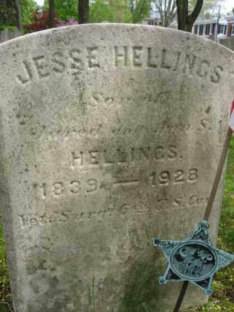 HELLINGS   (CW), JESSE - Bucks County, Pennsylvania | JESSE HELLINGS   (CW) - Pennsylvania Gravestone Photos