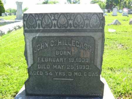 HILLEGASS, JOHN C. - Bucks County, Pennsylvania | JOHN C. HILLEGASS - Pennsylvania Gravestone Photos