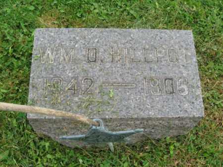 HILLPOT (CW), WILLIAM O. - Bucks County, Pennsylvania | WILLIAM O. HILLPOT (CW) - Pennsylvania Gravestone Photos