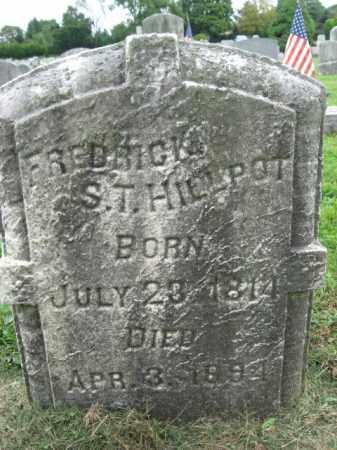 HILLPOT, FREDRICK S. - Bucks County, Pennsylvania | FREDRICK S. HILLPOT - Pennsylvania Gravestone Photos