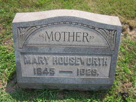 HOUSEWORTH, MARY - Bucks County, Pennsylvania | MARY HOUSEWORTH - Pennsylvania Gravestone Photos