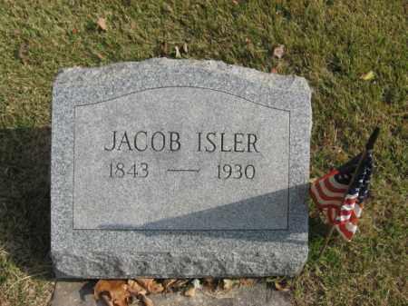 ISLER, JACOB - Bucks County, Pennsylvania | JACOB ISLER - Pennsylvania Gravestone Photos
