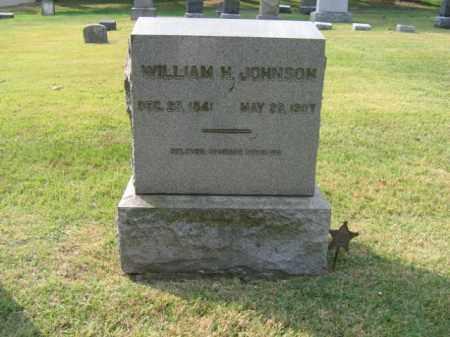 JOHNSON, WILLIAM M. - Bucks County, Pennsylvania   WILLIAM M. JOHNSON - Pennsylvania Gravestone Photos
