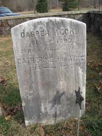 KECK (CW), CASPER - Bucks County, Pennsylvania | CASPER KECK (CW) - Pennsylvania Gravestone Photos
