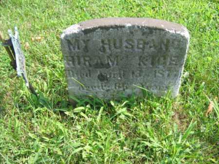 KICE, HIRAM - Bucks County, Pennsylvania | HIRAM KICE - Pennsylvania Gravestone Photos