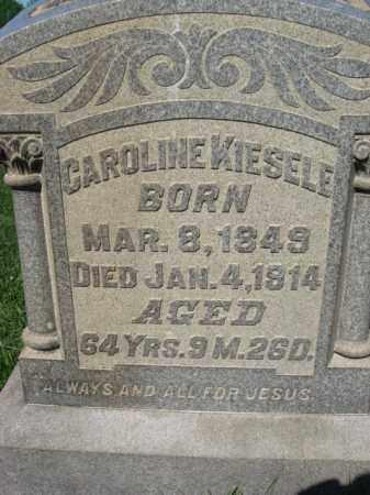KIESELE, CAROLINE - Bucks County, Pennsylvania | CAROLINE KIESELE - Pennsylvania Gravestone Photos