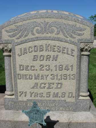 KIESELE (CW), PVT.JACOB - Bucks County, Pennsylvania   PVT.JACOB KIESELE (CW) - Pennsylvania Gravestone Photos