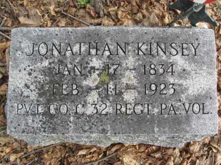 KINSEY (CW), JONATHAN - Bucks County, Pennsylvania | JONATHAN KINSEY (CW) - Pennsylvania Gravestone Photos