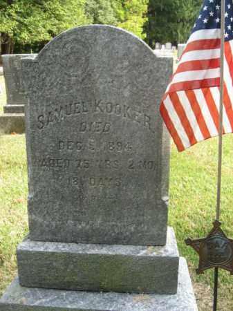 KOOKER, SAMUEL - Bucks County, Pennsylvania | SAMUEL KOOKER - Pennsylvania Gravestone Photos