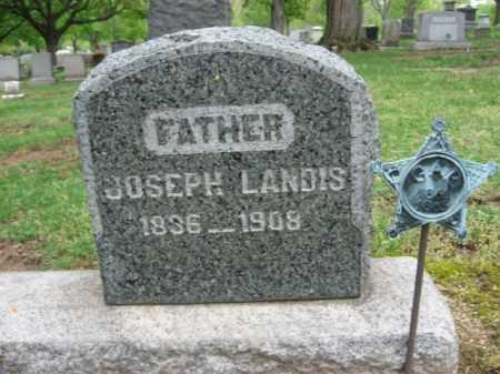 LANDIS, JOSEPH - Bucks County, Pennsylvania   JOSEPH LANDIS - Pennsylvania Gravestone Photos