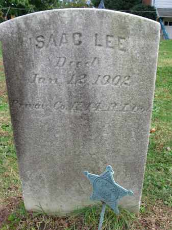LEE, ISAAC - Bucks County, Pennsylvania | ISAAC LEE - Pennsylvania Gravestone Photos