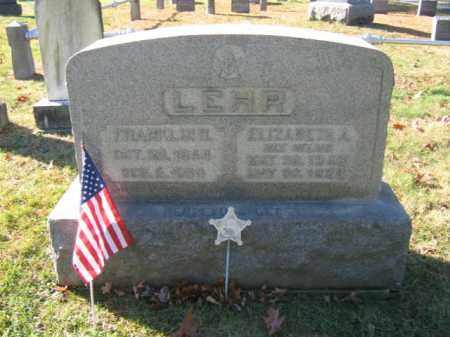 LEHR (CW), FRANKLIN H. - Bucks County, Pennsylvania | FRANKLIN H. LEHR (CW) - Pennsylvania Gravestone Photos