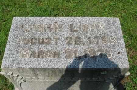 LOUX, JOHN - Bucks County, Pennsylvania | JOHN LOUX - Pennsylvania Gravestone Photos