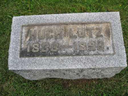 LUTZ, HUGH - Bucks County, Pennsylvania | HUGH LUTZ - Pennsylvania Gravestone Photos
