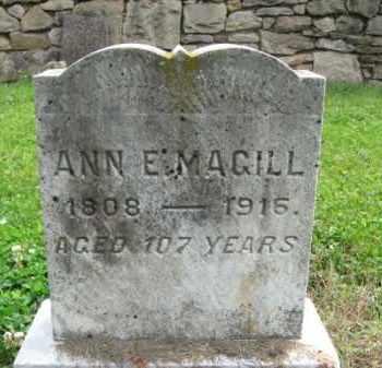 MAGILL, ANN E. - Bucks County, Pennsylvania | ANN E. MAGILL - Pennsylvania Gravestone Photos
