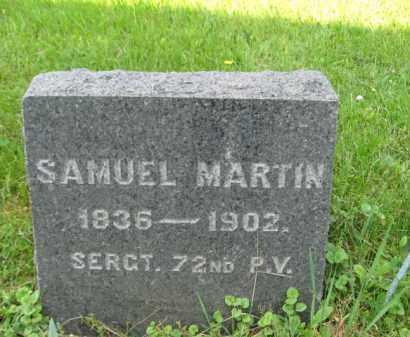 MARTIN (CW), SAMUEL - Bucks County, Pennsylvania | SAMUEL MARTIN (CW) - Pennsylvania Gravestone Photos