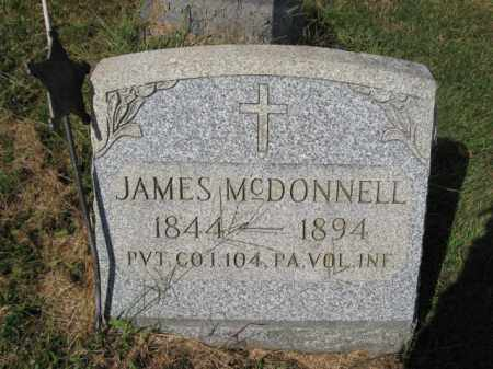 MCDONNELL (CW), JAMES - Bucks County, Pennsylvania | JAMES MCDONNELL (CW) - Pennsylvania Gravestone Photos