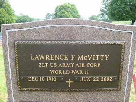 MCVITTY, LAWRENCE  F. - Bucks County, Pennsylvania | LAWRENCE  F. MCVITTY - Pennsylvania Gravestone Photos