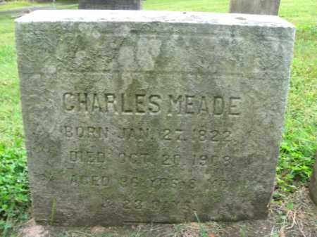 MEADE, CHARLES - Bucks County, Pennsylvania | CHARLES MEADE - Pennsylvania Gravestone Photos