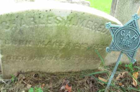 MEREDITH (CW), CHARLES H. - Bucks County, Pennsylvania   CHARLES H. MEREDITH (CW) - Pennsylvania Gravestone Photos