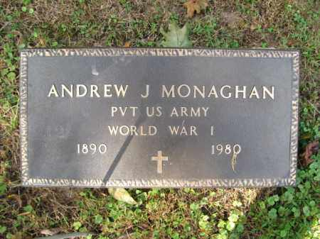 MONAGHAN (WW I), ANDREW J. - Bucks County, Pennsylvania | ANDREW J. MONAGHAN (WW I) - Pennsylvania Gravestone Photos