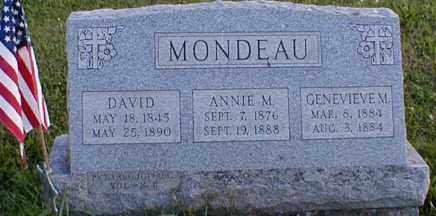 MONDEAU (MONDOW) (CW), DAVID - Bucks County, Pennsylvania | DAVID MONDEAU (MONDOW) (CW) - Pennsylvania Gravestone Photos