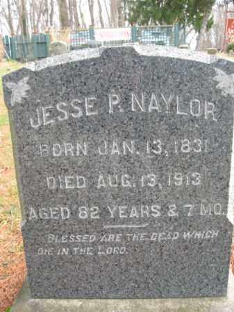 NAYLOR, JESSE P. - Bucks County, Pennsylvania | JESSE P. NAYLOR - Pennsylvania Gravestone Photos