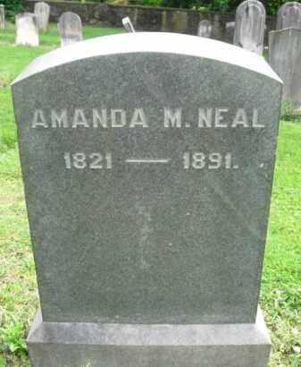 NEAL, AMANDA M. - Bucks County, Pennsylvania   AMANDA M. NEAL - Pennsylvania Gravestone Photos