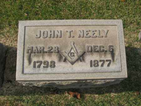 NEELY, JOHN T. - Bucks County, Pennsylvania | JOHN T. NEELY - Pennsylvania Gravestone Photos