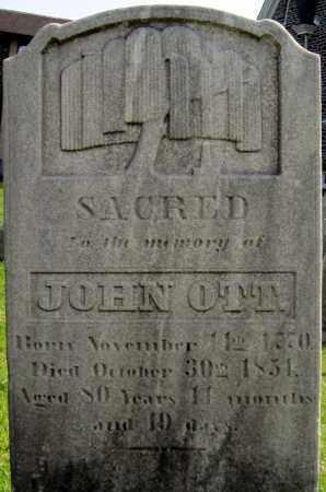 OTT, JOHN - Bucks County, Pennsylvania   JOHN OTT - Pennsylvania Gravestone Photos