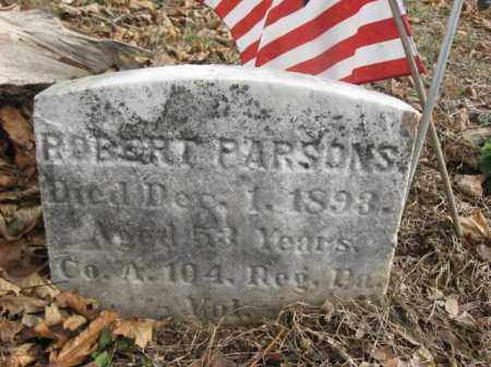 PARSONS (CW), ROBERT - Bucks County, Pennsylvania | ROBERT PARSONS (CW) - Pennsylvania Gravestone Photos