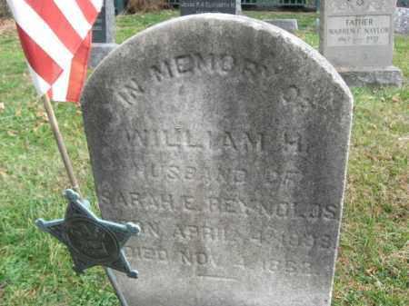 REYNOLDS(CW), WILLIAM H. - Bucks County, Pennsylvania   WILLIAM H. REYNOLDS(CW) - Pennsylvania Gravestone Photos