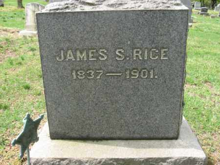 RICE (CW), JAMES S. - Bucks County, Pennsylvania | JAMES S. RICE (CW) - Pennsylvania Gravestone Photos