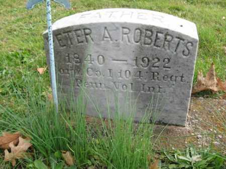 ROBERTS, CORP.PETER A. - Bucks County, Pennsylvania | CORP.PETER A. ROBERTS - Pennsylvania Gravestone Photos