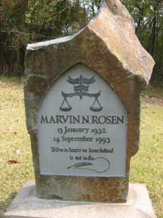 ROSEN, MARVIN N. - Bucks County, Pennsylvania | MARVIN N. ROSEN - Pennsylvania Gravestone Photos