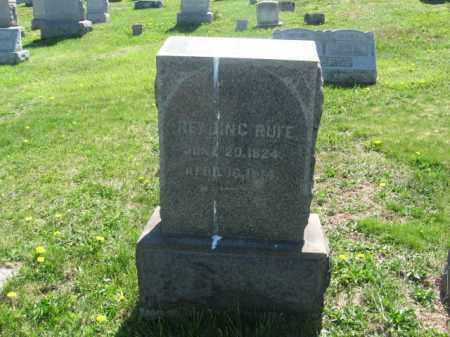 RUFE, READING - Bucks County, Pennsylvania | READING RUFE - Pennsylvania Gravestone Photos