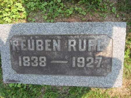 RUFE, REUBEN - Bucks County, Pennsylvania | REUBEN RUFE - Pennsylvania Gravestone Photos