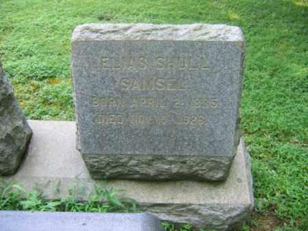 SAMSEL (CW), ELIAS SHULL - Bucks County, Pennsylvania   ELIAS SHULL SAMSEL (CW) - Pennsylvania Gravestone Photos
