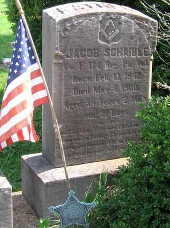 SCHAIBLE (CW), JACOB - Bucks County, Pennsylvania | JACOB SCHAIBLE (CW) - Pennsylvania Gravestone Photos