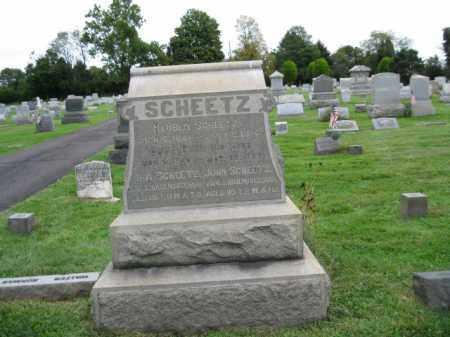 SCHEETZ (CW), REUBEN - Bucks County, Pennsylvania   REUBEN SCHEETZ (CW) - Pennsylvania Gravestone Photos