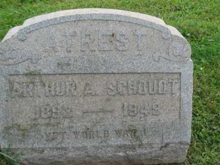 SCHOUDT (WW I), ARTHUR A - Bucks County, Pennsylvania   ARTHUR A SCHOUDT (WW I) - Pennsylvania Gravestone Photos