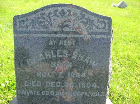 SHAW (CW), CHARLES - Bucks County, Pennsylvania | CHARLES SHAW (CW) - Pennsylvania Gravestone Photos