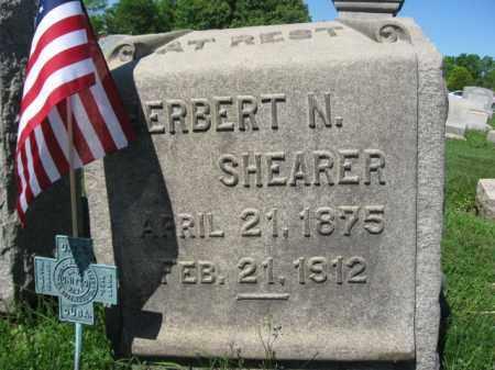 SHEARER (SAW), HERBERT N. - Bucks County, Pennsylvania | HERBERT N. SHEARER (SAW) - Pennsylvania Gravestone Photos
