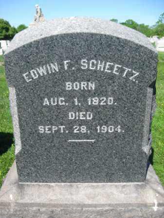 SHEETZ, EDWIN F. - Bucks County, Pennsylvania | EDWIN F. SHEETZ - Pennsylvania Gravestone Photos