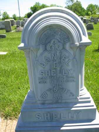 SHELLY, DANIEL B. - Bucks County, Pennsylvania | DANIEL B. SHELLY - Pennsylvania Gravestone Photos