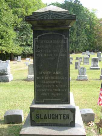 SLAUGHTER (CW), FREDERICK M. - Bucks County, Pennsylvania | FREDERICK M. SLAUGHTER (CW) - Pennsylvania Gravestone Photos