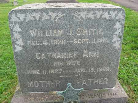 SMITH (CW), WILLIAM J. - Bucks County, Pennsylvania   WILLIAM J. SMITH (CW) - Pennsylvania Gravestone Photos